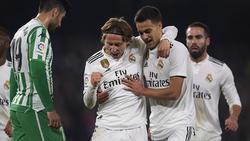 Modric marcó el primer gol del partido. (Foto: Getty)