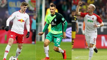 Auf dem BVB-Zettel: Timo Werner, Maximilian Eggestein und Philipp Max