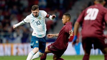 Argentinien und Lionel Messi blamieren sich