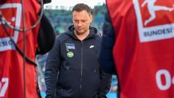 Herthas Trainer Pál Dárdai war nach der bitteren Niederlage in Leipzig bedient