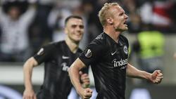 BVB-Leihgabe Sebastian Rode will in Frankfurt bleiben