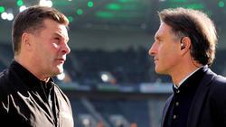 Dieter Hecking und Bruno Labbadia werden angeblich beim HSV gehandelt