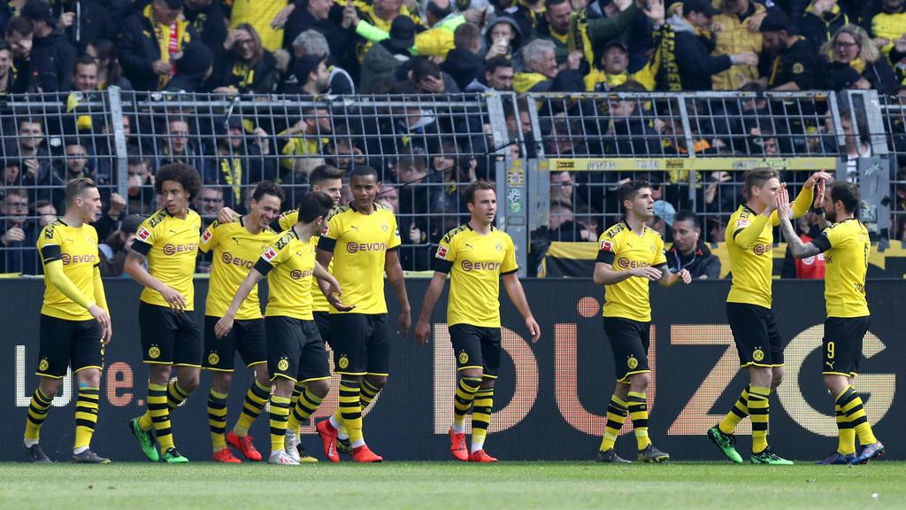 Dortmund verkürzte den Abstand auf den FC Bayern