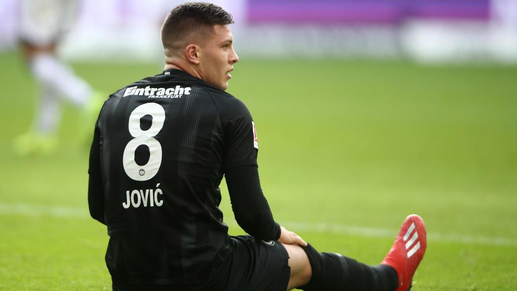Luka Jovic spielt ab der kommenden Saison für Real Madrid