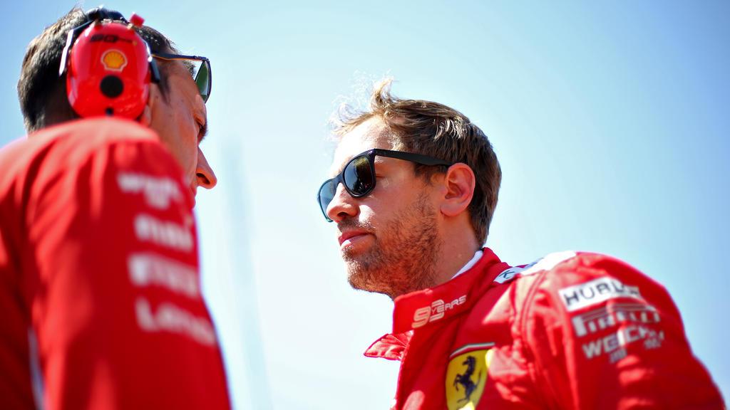 Ferrari will Protest gegen die Strafe von Sebastian Vettel einlegen