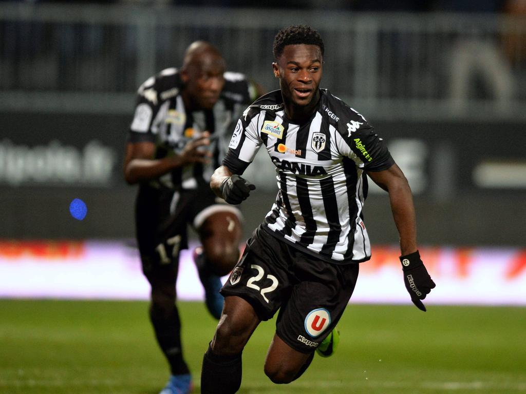 Thomas Mangani erzielte den Treffer zum 1:0 für Angers gegen Guingamp