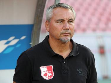 Pacult in seiner Zeit bei Radnički Niš