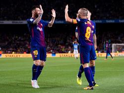 Lionel Messi und Andrés Iniesta treffen mit dem FC Barcelona auf Real Madrid