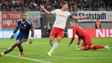 RB Leipzig legte gegen Lyon eine Bruchlandung hin