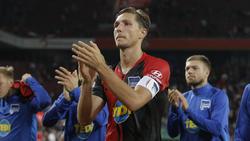 Niklas Stark war nach der Niederlage in Augsburg bedient