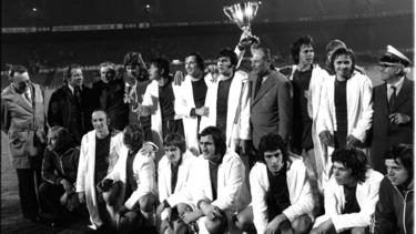 1974 gewann Magdeburg sensationell den Europapokal der Pokalsieger