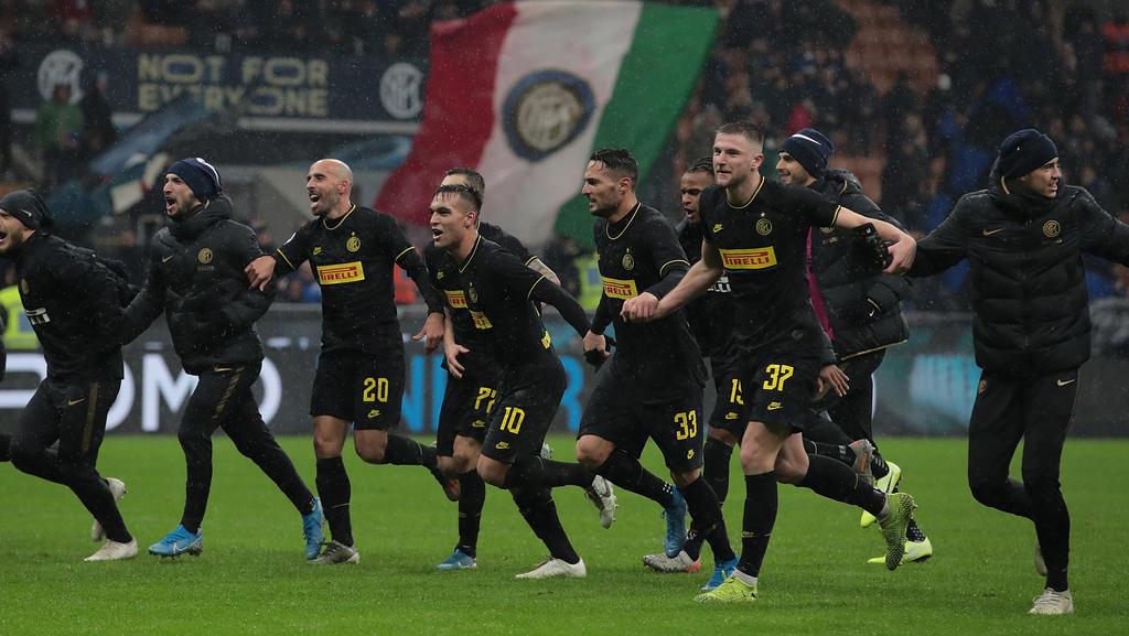 Inter Mailand ist an die Spitze der Serie A gestürmt