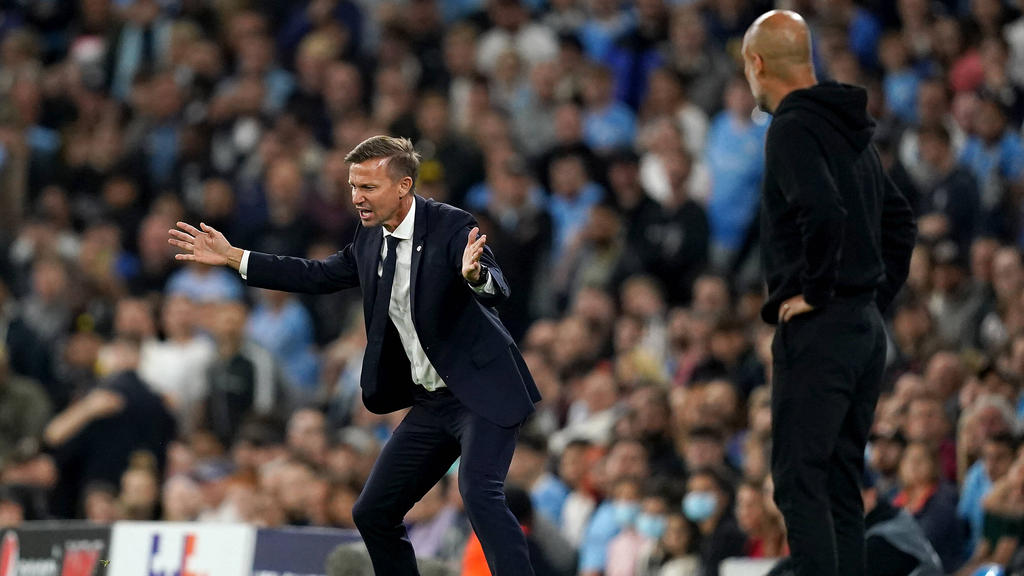 RB Leipzig hatte in Manchester keine Chance
