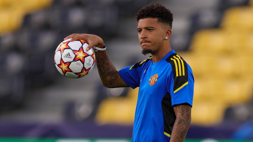 Jadon Sancho kommt nach seinem Wechsel vom BVB zu ManUnited noch nicht in Schwung