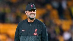 War zu Scherzen aufgelegt: Jürgen Klopp vom FC Liverpool