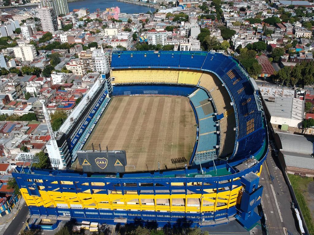 Die Bombonera der Boca Juniors wird schrittweise ausgebaut