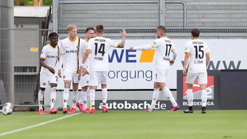 Dynamo Dresden sendete ein wichtiges Zeichen im Abstiegskampf