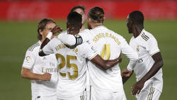 Real Madrid hat RCD Mallorca bezwungen
