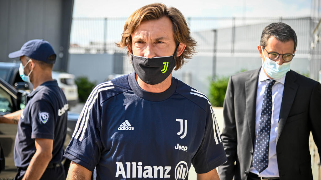 Andrea Pirlo ist der neue Coach von Juventus Turin