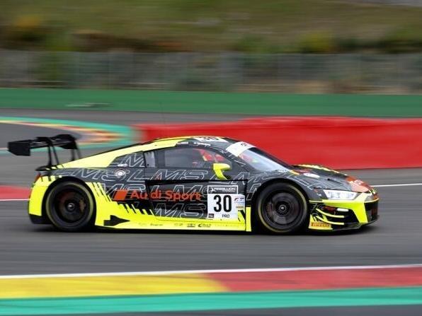 Mit diesem Audi R8 LMS wird Ferdinand Habsburg in Spa am Start sein