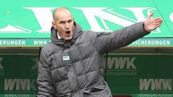 Heiko Herrlich steht im Topspiel gegen Leipzig an der Seitenlinie
