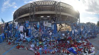 Das San Paolo wird nach Diego Maradona benannt