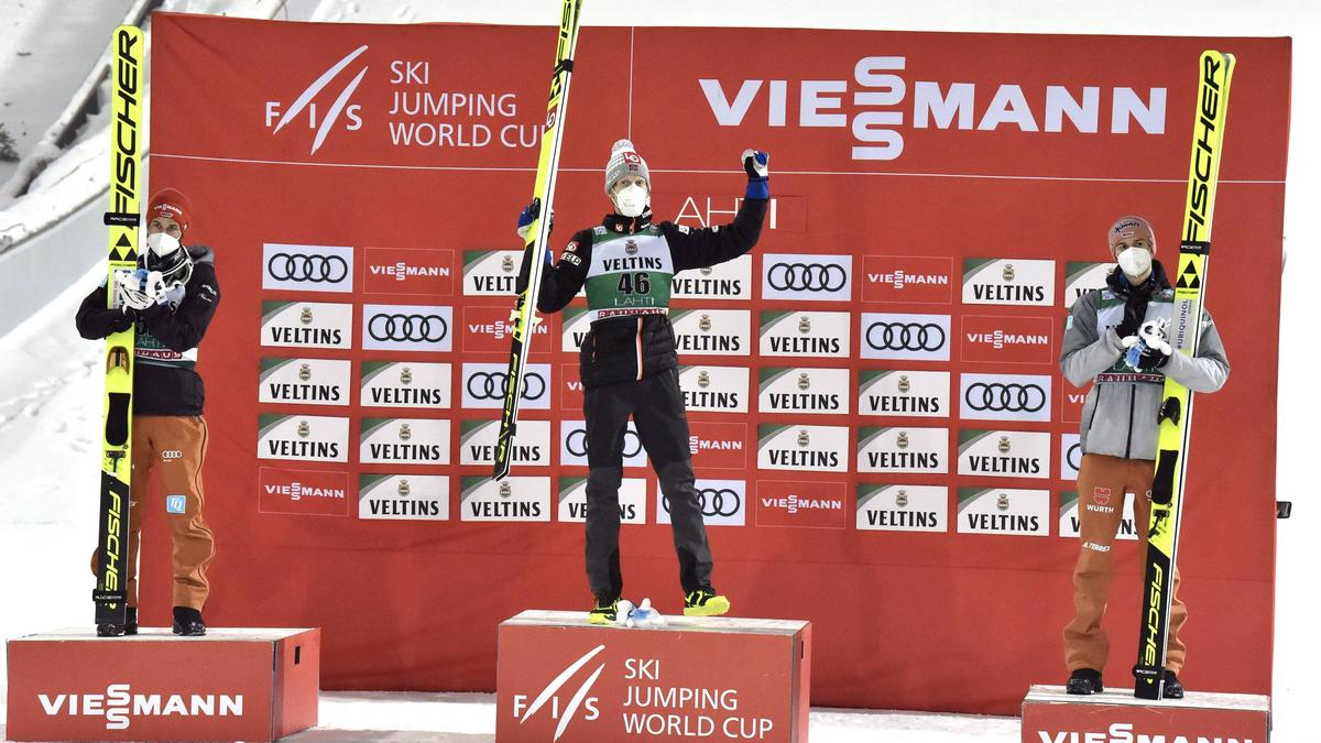 Die deutschen Skispringer sind wieder in der Spur