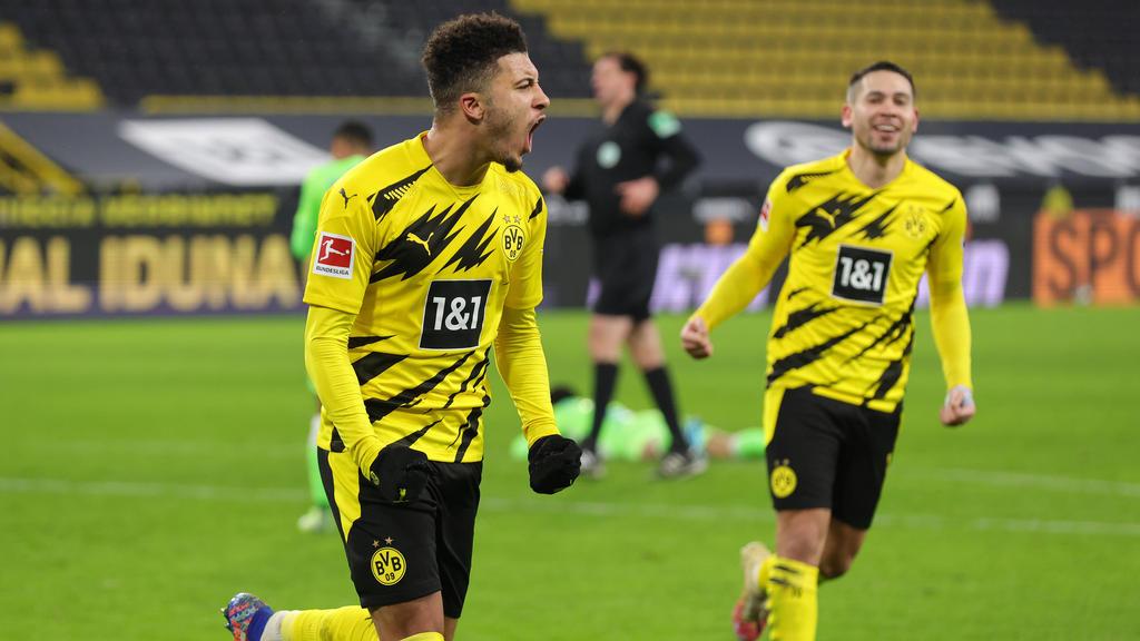 Der BVB muss in München unter anderem auf Jadon Sancho (l.) verzichten