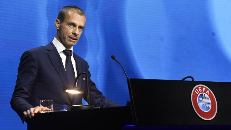 UEFA-Chef Aleksandar Ceferin hat mit Konsequenzen gedroht