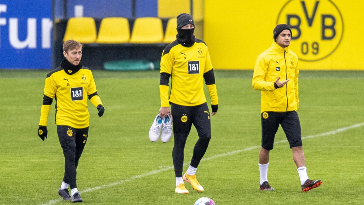 Felix Passlack (l.) wird wohl weiterhin für den BVB auflaufen