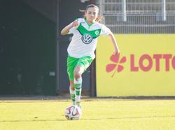 Joelle Wedemeyer unterschrieb bis 2019 bei den Wölfen