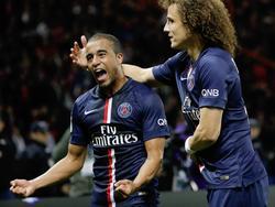 Lucas bringt PSG gegen den Erzrivalen aus Marseille in Front