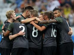Als Team zu Gold: Deutschland ist heiß aufs Finale