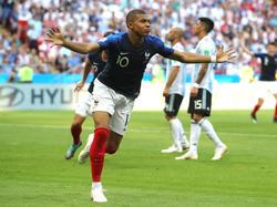 Kylian Mbappé se convirtió en héroe de Francia ante Argentina. (Foto: Getty)