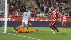Stuani (dcha.) brilló con un doblete contra el Celta. (Foto: Imago)