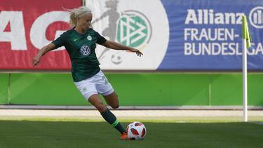 Pernille Harder erzielte einen Treffer