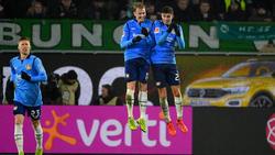 Bayer Leverkusen hat den ersten Sieg im neuen Jahr gefeiert