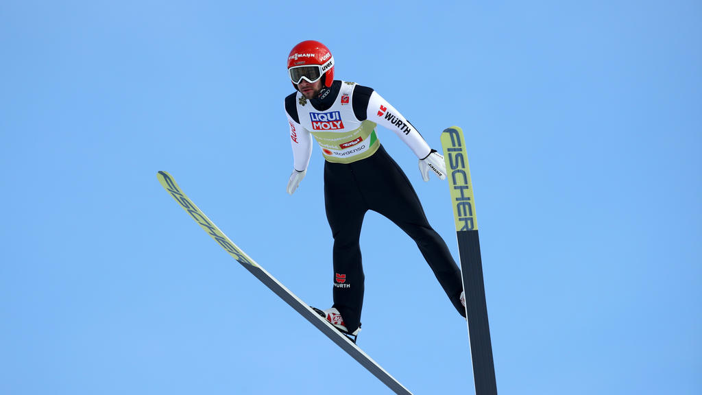 Markus Eisenbichler legte die achtbeste Weite in der Qualifikation hin