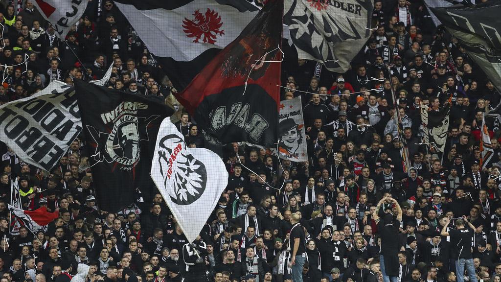 Die Eintracht-Fans müssen trocken bleiben - zumindest offiziell