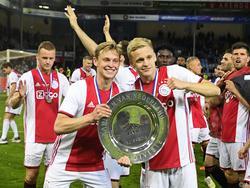 Ajax feiert den Titel