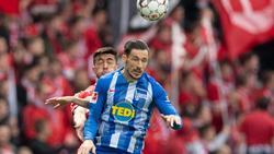Mathew Leckie (v.) wird diese Saison nicht mehr für Hertha BSC spielen. Foto: Soeren Stache