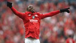 Jean-Philippe Mateta erzielte in der vergangenen Saison 14 Treffer für Mainz