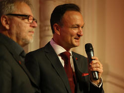 Bei Admira Wacker zeigt sich Vereinspräsident Philip Thonhauser glücklich über die jüngste Entwicklung