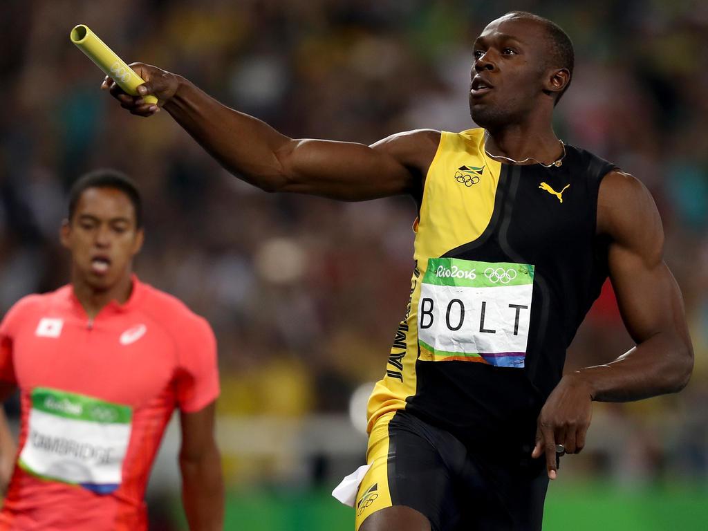 Ein Mann - ein Legende: Usain holte zum dritten Mal Staffelgold
