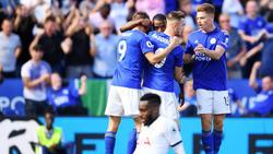 Leicester stellte den Spurs ein Bein