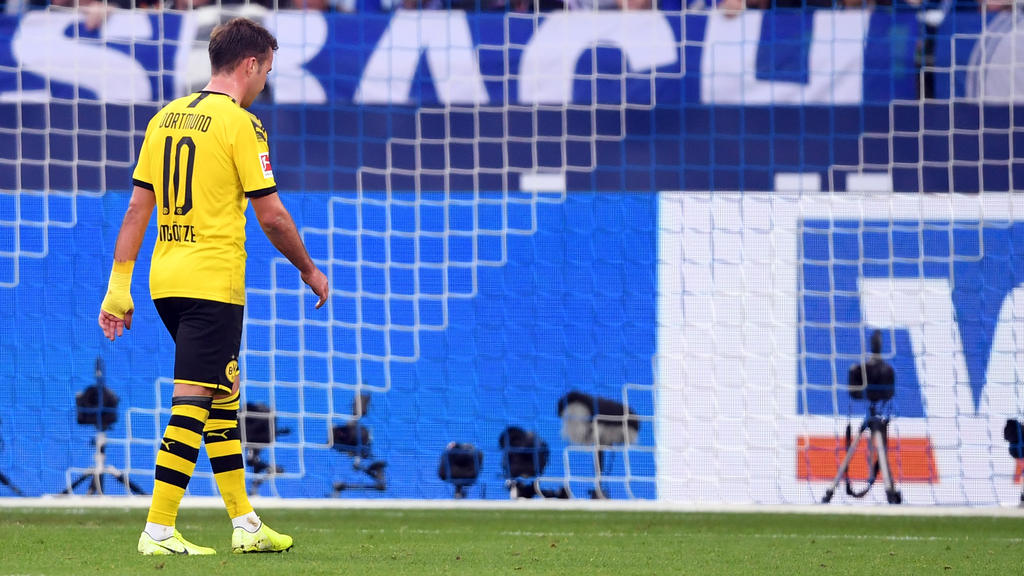 BVB-Star Mario Götze hat sich beim Spiel gegen Schalke verletzt
