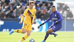 Der FC Barcelona feierte einen knappen Sieg bei Leganés