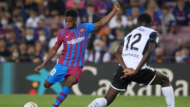 Ansu Fati erzielte für Barca den Ausgleich