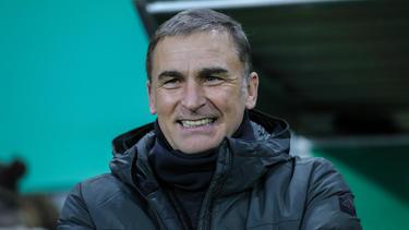 Hat ein Spezialtraining mit den Offensivspielern der U-Teams absolviert: Stefan Kuntz