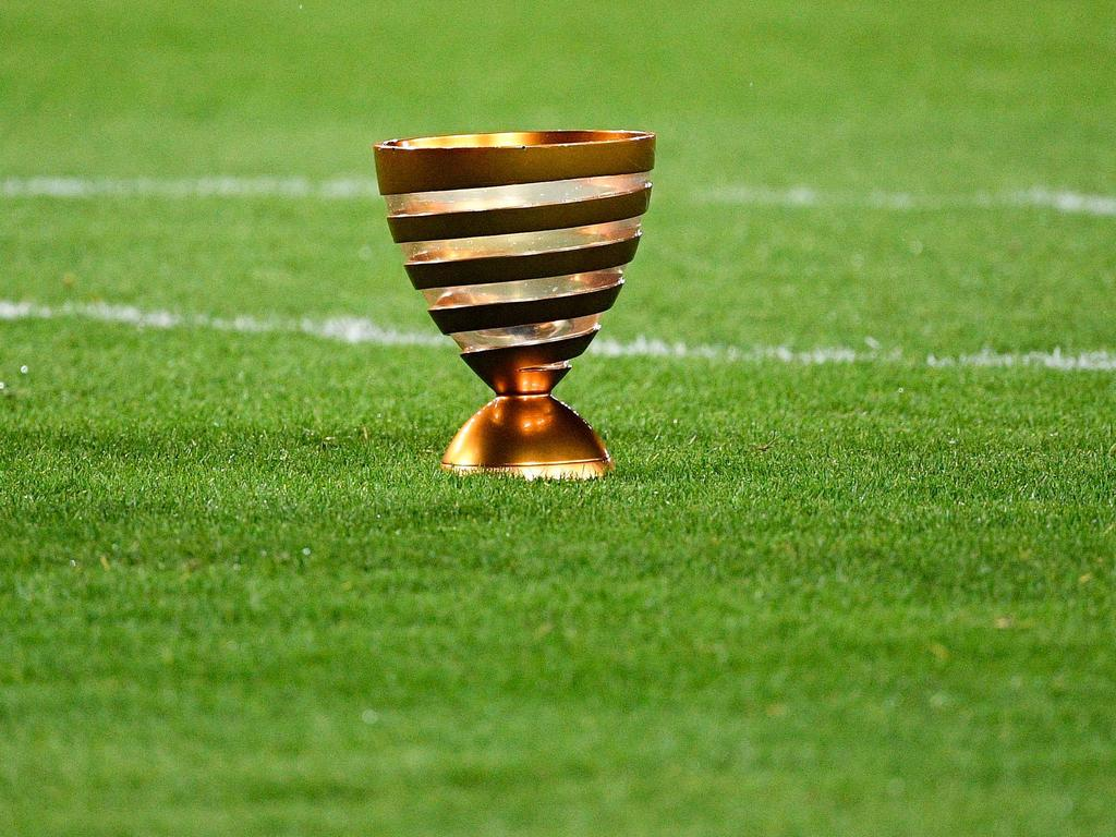 Imagen del trofeo de la Copa de La Liga francesa.